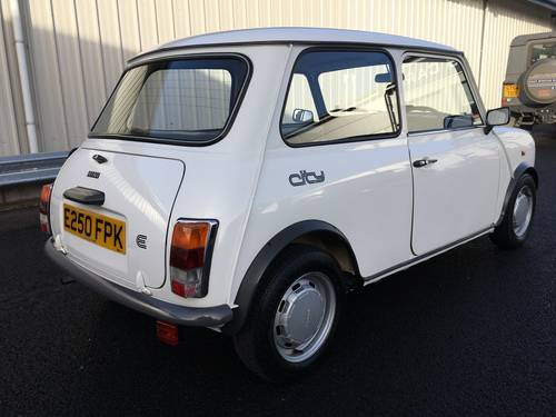 1987 E AUSTIN MINI 1.0 CITY E 39 BHP, CLASSIC, 1 OWNER, 18K  SOLD (picture 3 of 6)