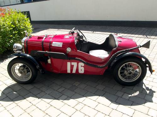 1932 AUSTIN 7 SUPER ACCESSORIES BODIED ROAD/RACECAR SOLD (picture 1 of 6)