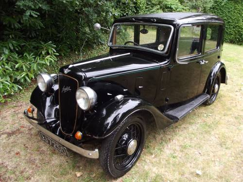 1934 AUSTIN 10 LITCHFIELD 4 DOOR SALOON SOLD (picture 1 of 6)