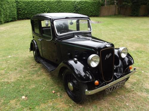 1934 AUSTIN 10 LITCHFIELD 4 DOOR SALOON SOLD (picture 2 of 6)