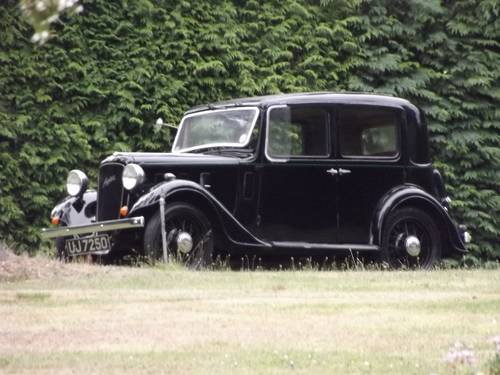 1934 AUSTIN 10 LITCHFIELD 4 DOOR SALOON SOLD (picture 3 of 6)