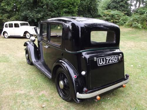 1934 AUSTIN 10 LITCHFIELD 4 DOOR SALOON SOLD (picture 6 of 6)