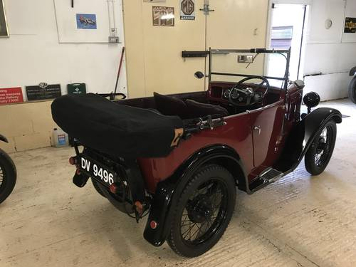 1931 Austin 7 'AF' Four Seat Tourer - Superb Condition.... SOLD (picture 6 of 6)