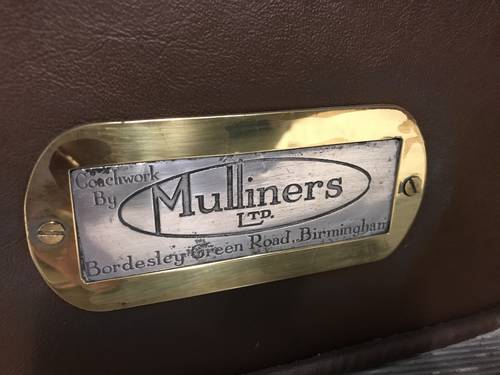 1929 Austin 7 Mulliner Fabric Saloon SOLD (picture 6 of 6)