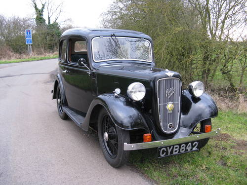 1937 Austin 7 Ruby Mk2 SOLD (picture 1 of 6)