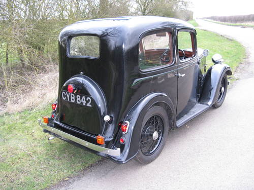 1937 Austin 7 Ruby Mk2 SOLD (picture 2 of 6)