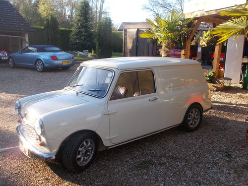 1966 MINI VAN  (RALLYSPRINT)  SPECIFICATION For Sale (picture 1 of 6)