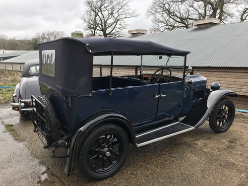 1930 Austin 12/4 Clifton Tourer - Now Reserved SOLD (picture 3 of 6)
