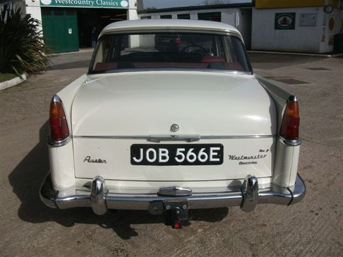 1967 Austin Westminster A110 manual overdrive. SOLD (picture 4 of 6)