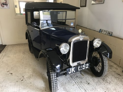1930 Austin 7 Chummy 'AE' Series...Now Sold SOLD (picture 1 of 5)