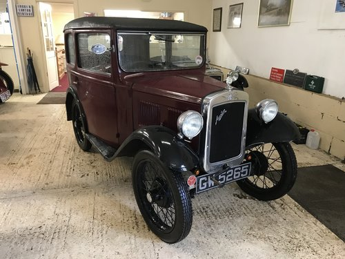 1932 Austin 7 'RM' Saloon - Now Reserved SOLD (picture 1 of 6)
