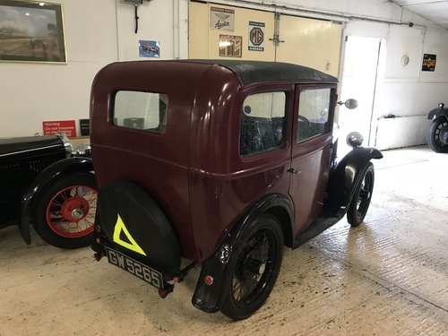 1932 Austin 7 'RM' Saloon - Now Reserved SOLD (picture 2 of 6)