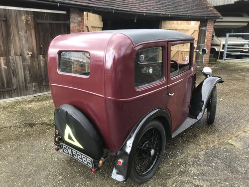 1932 Austin 7 'RM' Saloon - Now Reserved SOLD (picture 3 of 6)