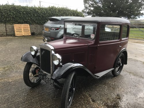 1932 Austin 7 'RM' Saloon - Now Reserved SOLD (picture 6 of 6)