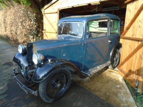 1934 Austin Seven Ruby Mark I for Restoration SOLD (picture 1 of 6)