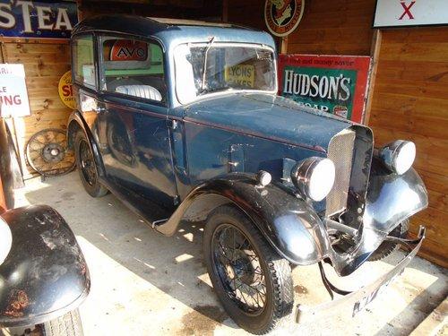 1934 Austin Seven Ruby Mark I for Restoration SOLD (picture 2 of 6)