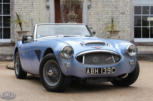 1964 Austin Healey 3000 MKIII BJ8 Phase II | Nast Boy Period Conv SOLD (picture 1 of 6)