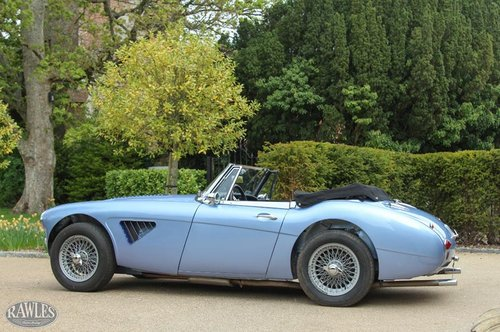 1964 Austin Healey 3000 MKIII BJ8 Phase II | Nast Boy Period Conv SOLD (picture 3 of 6)