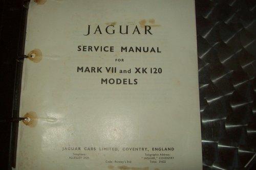 1967 ORIGINAL JAGUAR XK FACTORY WORKSHOP MANUAL  For Sale (picture 2 of 6)