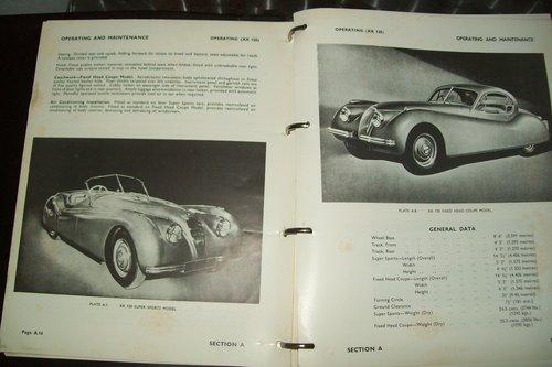 1967 ORIGINAL JAGUAR XK FACTORY WORKSHOP MANUAL  For Sale (picture 4 of 6)