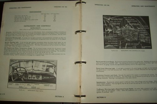 1967 ORIGINAL JAGUAR XK FACTORY WORKSHOP MANUAL  For Sale (picture 5 of 6)
