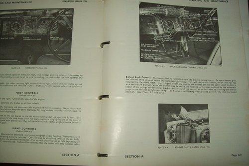 1967 ORIGINAL JAGUAR XK FACTORY WORKSHOP MANUAL  For Sale (picture 6 of 6)