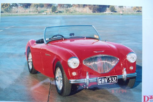 1955 Austin healey 100/4 bni For Sale (picture 1 of 6)