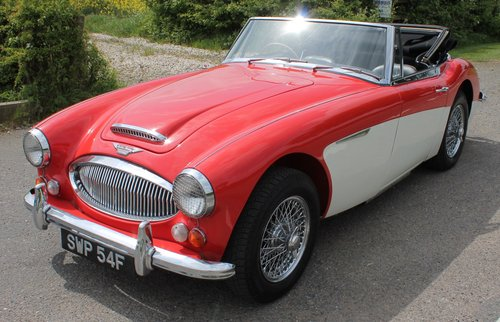 1967 Austin Healey 3000 MK111 BJ8 Phase 11 With Overdrive   SOLD (picture 2 of 6)