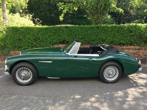 1967 AUSTIN HEALEY 3000 MK 3  Phase 2.  LHD. SOLD (picture 1 of 6)