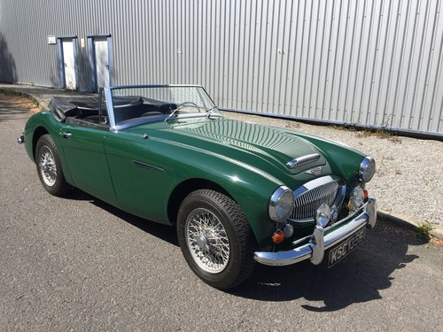 1967 AUSTIN HEALEY 3000 MK 3  Phase 2.  LHD. SOLD (picture 2 of 6)