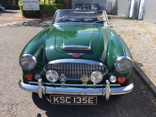 1967 AUSTIN HEALEY 3000 MK 3  Phase 2.  LHD. SOLD (picture 3 of 6)