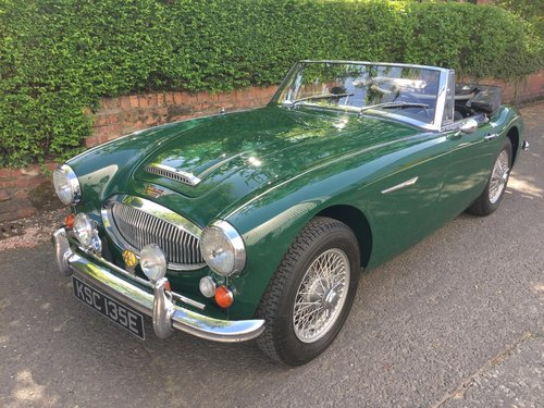 1967 AUSTIN HEALEY 3000 MK 3  Phase 2.  LHD. SOLD (picture 5 of 6)