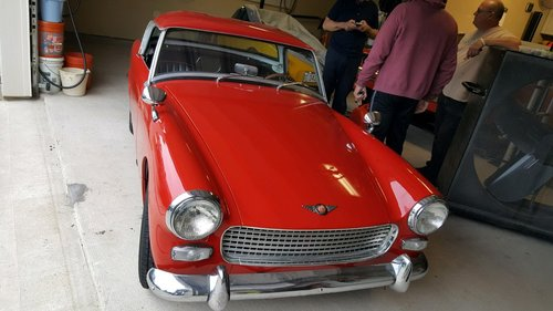 Austin Healey Sprite 1962  SOLD (picture 1 of 6)