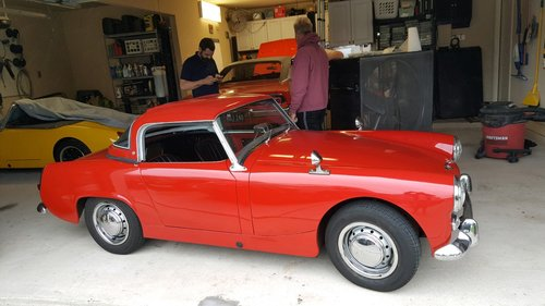 Austin Healey Sprite 1962  SOLD (picture 4 of 6)