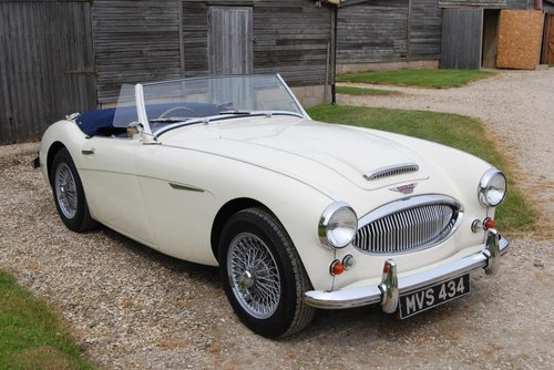 1961 Austin-Healey 3000 MkII, Tri-carb, History, Upgrades, VGC For Sale (picture 1 of 6)