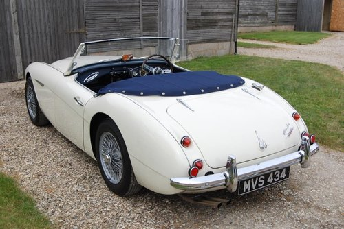 1961 Austin-Healey 3000 MkII, Tri-carb, History, Upgrades, VGC For Sale (picture 6 of 6)