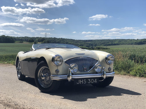 1955 Austin Healey 100 Le Mans Modified, Original RHD SOLD (picture 1 of 6)