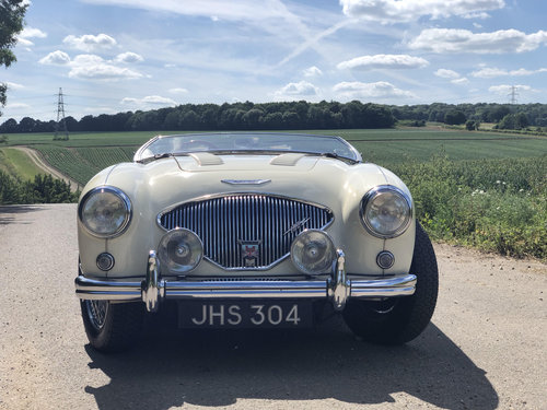 1955 Austin Healey 100 Le Mans Modified, Original RHD SOLD (picture 2 of 6)