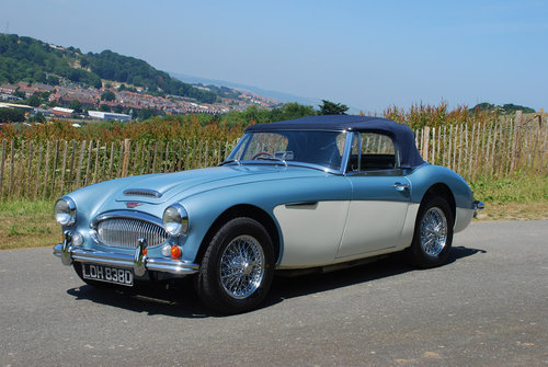 1966 Austin Healey 3000 MK 3 - Original Healey blue car from new. For Sale (picture 1 of 6)