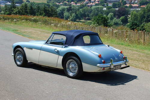 1966 Austin Healey 3000 MK 3 - Original Healey blue car from new. For Sale (picture 2 of 6)