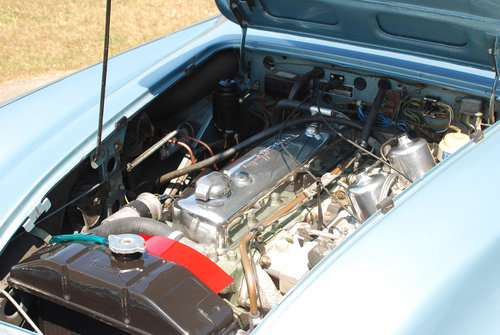1966 Austin Healey 3000 MK 3 - Original Healey blue car from new. For Sale (picture 4 of 6)