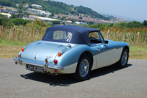 1966 Austin Healey 3000 MK 3 - Original Healey blue car from new. For Sale (picture 5 of 6)