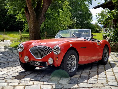 1956 Austin Healey 100-4 BN2 Roadster, originally preserved! For Sale (picture 1 of 6)