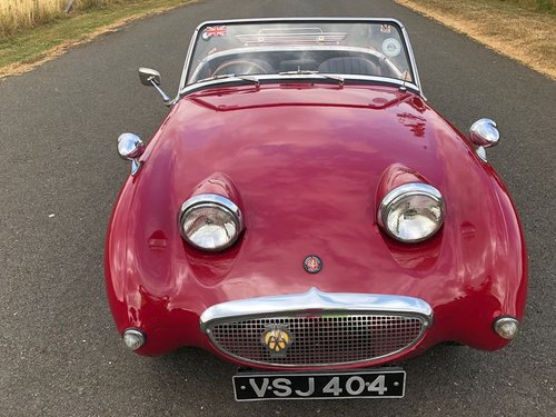 1959 Austin Healey Sprite MK I Frogeye SOLD (picture 2 of 6)