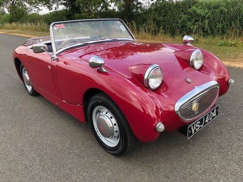 1959 Austin Healey Sprite MK I Frogeye SOLD (picture 3 of 6)