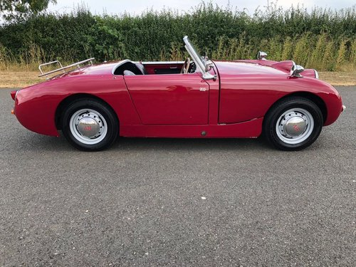 1959 Austin Healey Sprite MK I Frogeye SOLD (picture 5 of 6)