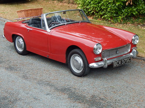 1964 Healey sprite Mk111 SOLD (picture 1 of 6)