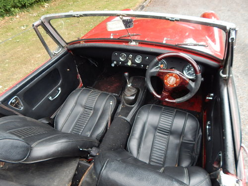 1964 Healey sprite Mk111 SOLD (picture 4 of 6)