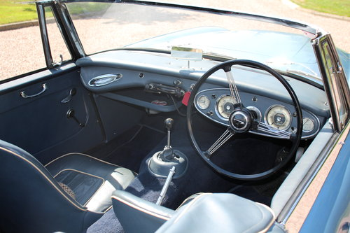 Austin Healey 3000 MkII 1963 Beautiful Example SOLD (picture 3 of 6)