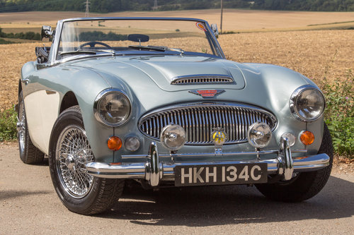 1965 Austin Healey 3000 MKIII | Original Healey Blue, High Spec SOLD (picture 1 of 6)
